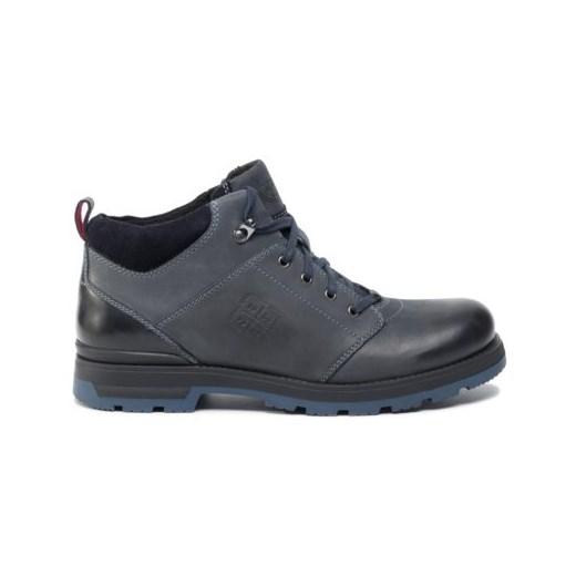 Buty zimowe męskie Lasocki For Men sznurowane militarne nOxgc