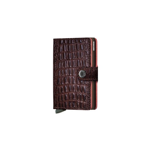 Secrid Miniwallet Nile Brown-One size Secrid  One Size Shooos.pl okazyjna cena