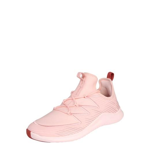 Różowe buty sportowe damskie Nike dla tenisistów na płaskiej