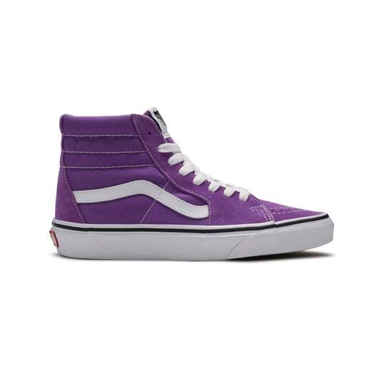 Sneakersy damskie Vans fioletowe wiosenne młodzieżowe w Domodi