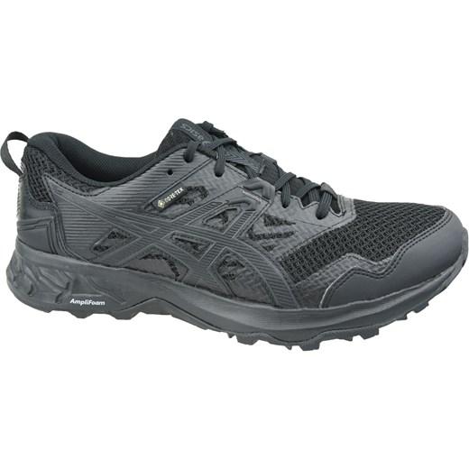 Buty sportowe damskie Asics do biegania z tkaniny bez wzorów sznurowane
