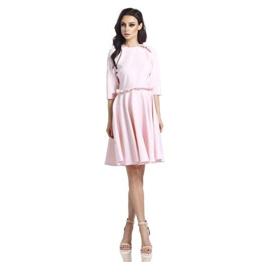 Sukienka Lemoniade - Lizz Odzież Damska KZ różowy ZQEY