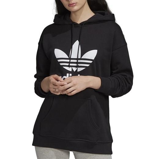 Bluza sportowa Adidas bawełniana czarna w Domodi