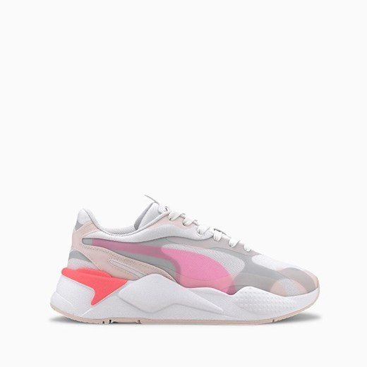 Sneakersy damskie Puma na platformie sznurowane w Domodi