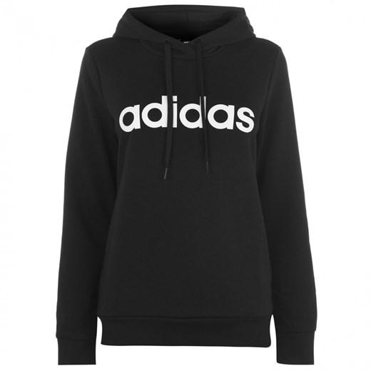 Bluza damska czarna Adidas sportowa w Domodi