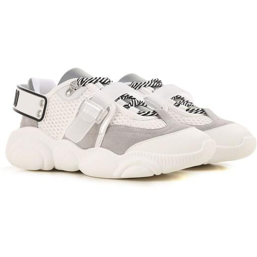 Sneakersy damskie Moschino na wiosnę w Domodi