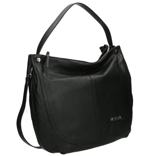 Shopper bag Venezia mieszcząca a8 matowa skórzana w Domodi