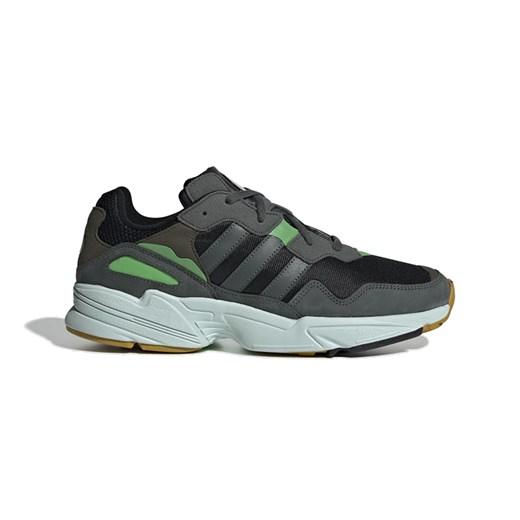 Buty sportowe męskie Adidas sznurowane z nubuku