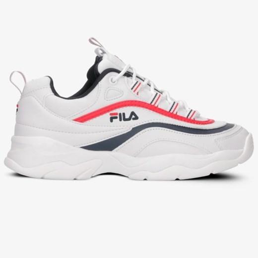 Fila buty sportowe damskie do fitnessu białe na płaskiej
