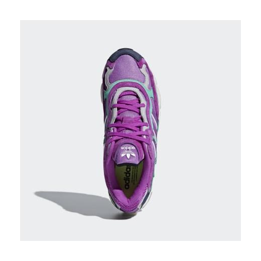 Buty sportowe męskie Adidas sznurowane zamszowe