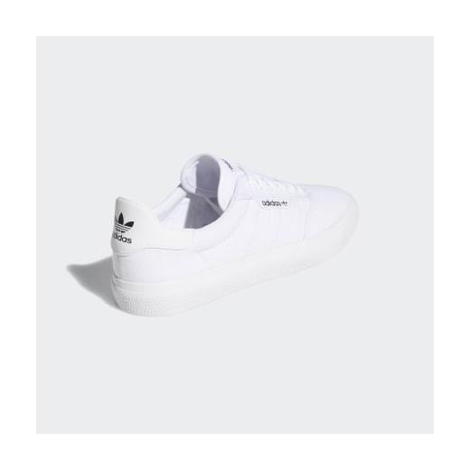 Buty sportowe damskie Adidas sznurowane na wiosnę bez wzorów na płaskiej podeszwie p3MYc