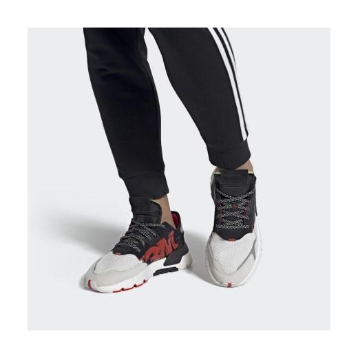 Buty sportowe damskie Adidas do biegania zamszowe w Domodi