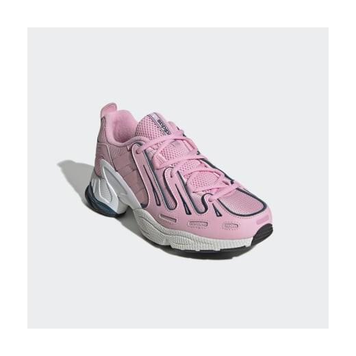 Buty sportowe damskie Adidas do biegania skórzane na