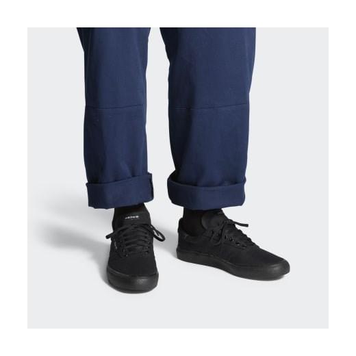 Trampki damskie Adidas bez wzorów płaskie GBGuG