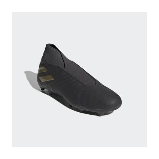 Buty sportowe męskie czarne Adidas nemeziz wiosenne Fd6tz