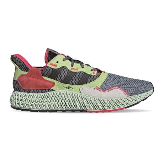 Buty sportowe damskie Adidas do biegania zx z zamszu wiązane