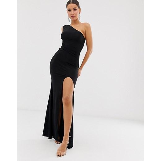 Sukienka Club L London Odzież Damska UK czarny JNCM