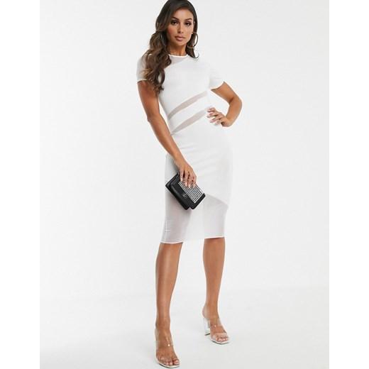 Sukienka Asos Design Odzież Damska CZ biały PXMD