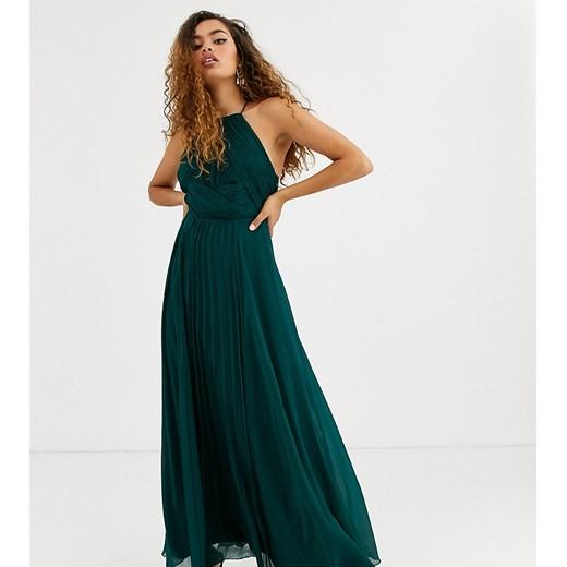 Sukienka Asos Odzież Damska OH zielony FFEG