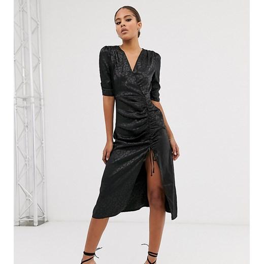 Sukienka Outrageous Fortune Tall Odzież Damska YO czarny FDRA