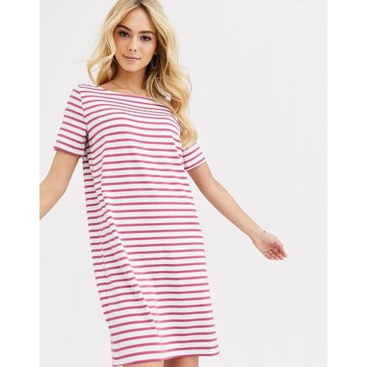 Sukienka Pieces Odzież Damska ZJ różowy XPPO