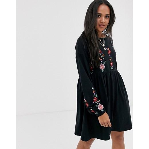 Sukienka Asos Design Odzież Damska EO czarny OHUE