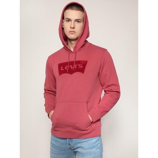 Bluza męska Levi's na jesień z napisem w stylu młodzieżowym
