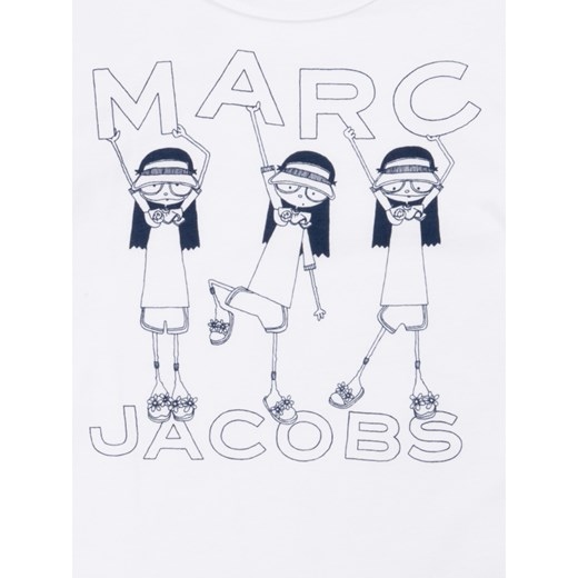 Little Marc Jacobs T-Shirt W15492 M Biały Regular Fit