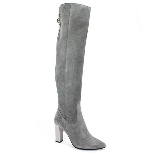 Kozaki damskie Euro Moda na zimę