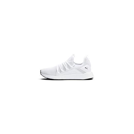 Buty sportowe damskie Puma dla biegaczy sznurowane płaskie w