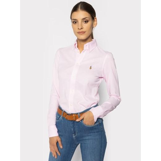 Koszula damska Polo Ralph Lauren wiosenna z kołnierzykiem  yhzxg