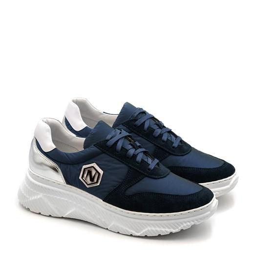 Buty sportowe damskie Neścior młodzieżowe sznurowane w Domodi