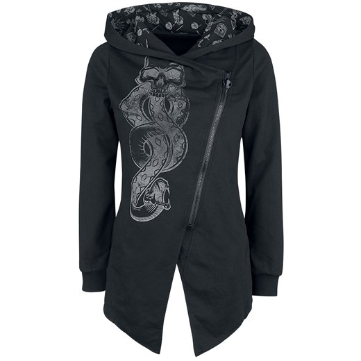 Bluza damska czarna bawełniana w Domodi