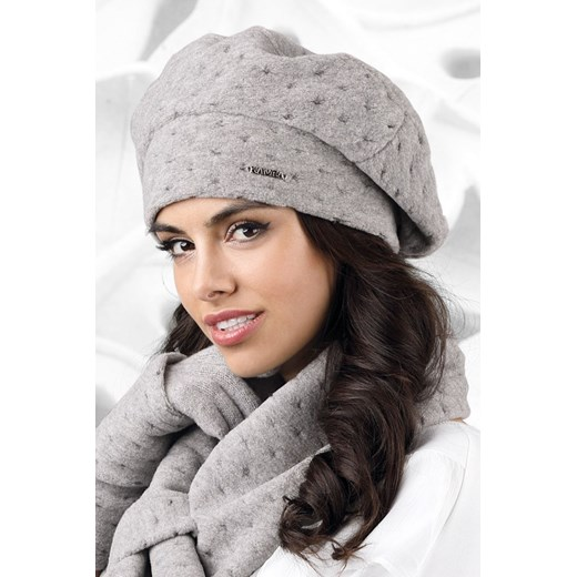 Beret Model Carbonia Grey Kamea  One-size-fits-all Bomawika