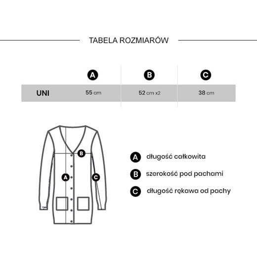 Sweter damski Unika casual z dekoltem w serek Odzież Damska VQ beżowy ZGIK