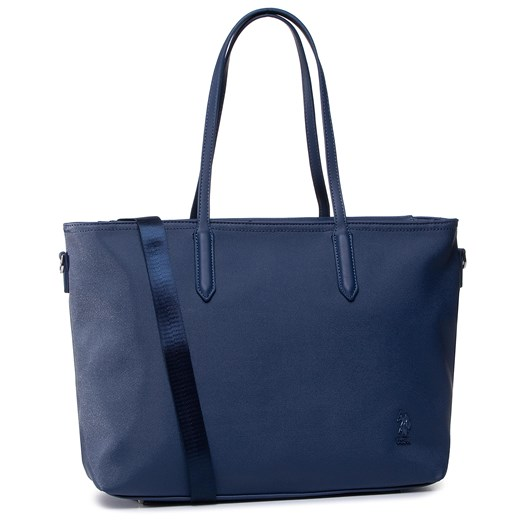 Torebka U.S. POLO ASSN. - Portsmouth M Shopping Bag BEUPO0281WVP Blue 200  U.S Polo Assn.  eobuwie.pl