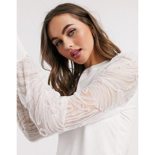 Sweter damski New Look Odzież Damska QV biały NRLN