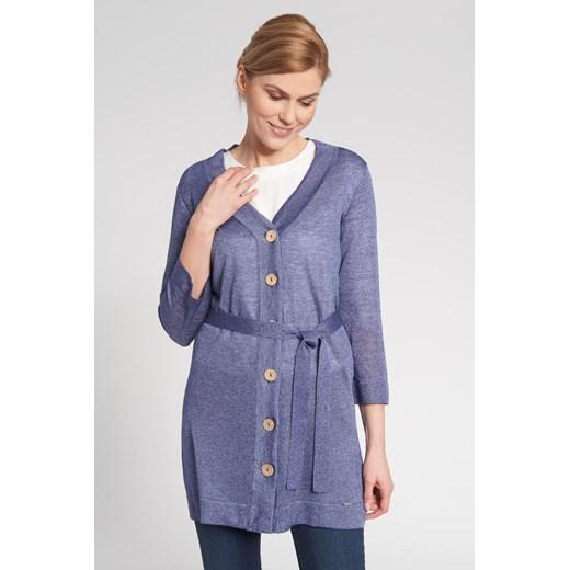 Sweter damski niebieski Quiosque Odzież Damska QQ niebieski XTIK