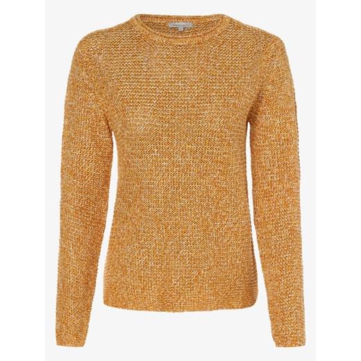 Apriori - Damski sweter lniany, pomarańczowy vangraaf Odzież Damska GA brązowy EQGC
