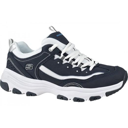 Buty sportowe damskie Skechers sneakersy młodzieżowe w Domodi