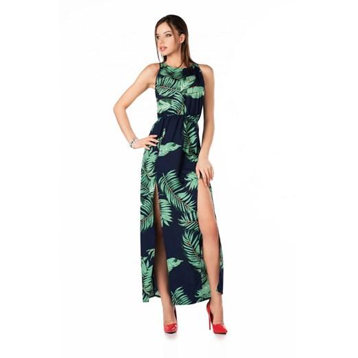Sukienka Merribel z okrągłym dekoltem Odzież Damska KL wielokolorowy HBPC