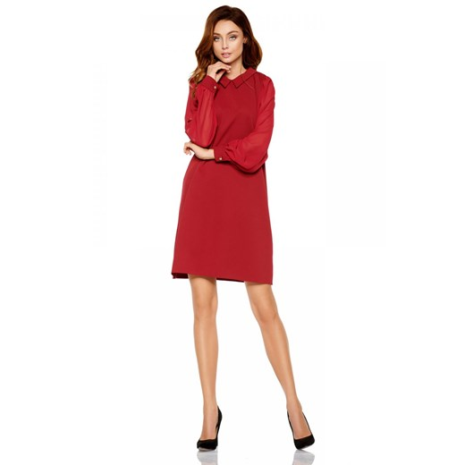 Sukienka Lemoniade Odzież Damska BQ czerwony CLXS