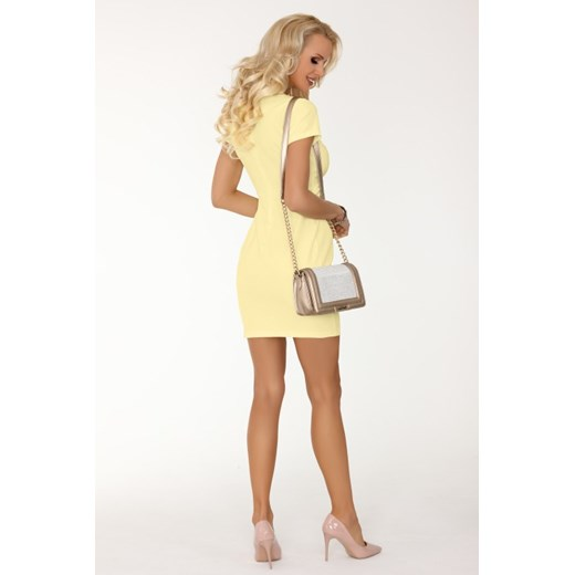 Sukienka Merribel Odzież Damska DN żółty SHSO