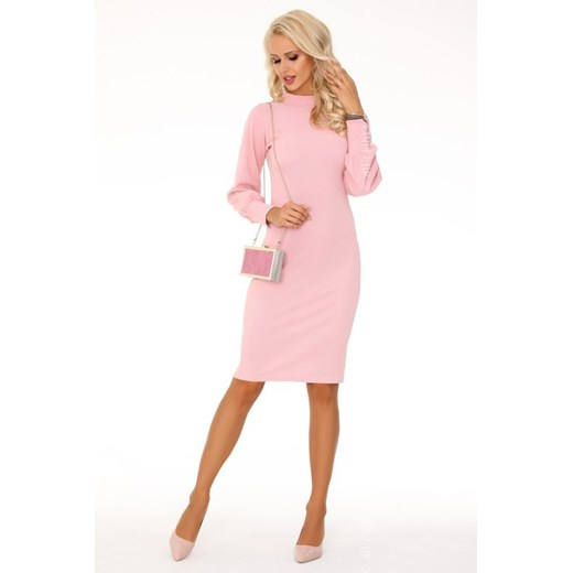 Sukienka Merribel Odzież Damska SB różowy HFGC