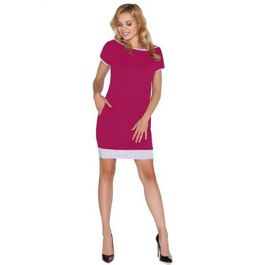 Sukienka Merribel Odzież Damska PG różowy CJGX