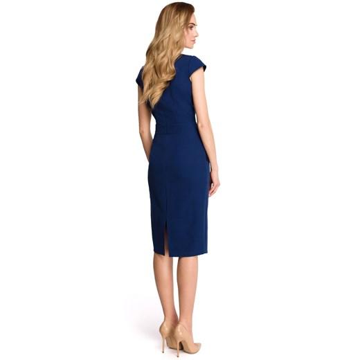 Sukienka Style ołówkowa Odzież Damska BE niebieski FHHX