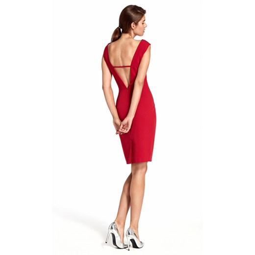 Sukienka Nife Odzież Damska OC czerwony HSPG