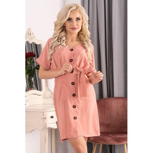 Sukienka Merribel Odzież Damska YI pomarańczowy RQUI
