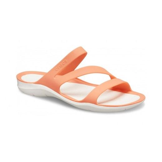 Sandały damskie Crocs na płaskiej podeszwie bez zapięcia