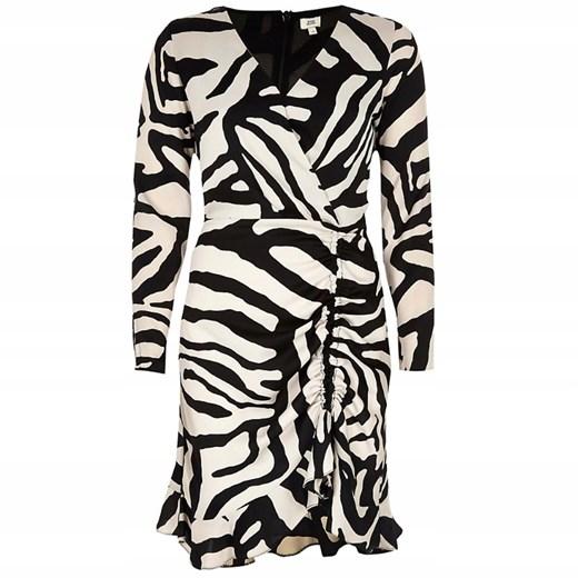 Sukienka River Island w zwierzęce wzory Odzież Damska WU wielokolorowy NYNY